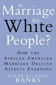 Cover art for IS MARRIAGE FOR WHITE PEOPLE?