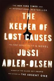 Cover art for THE KEEPER OF LOST CAUSES