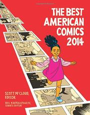 THE BEST AMERICAN COMICS 2014 by Scott McCloud
