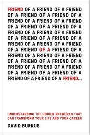 FRIEND OF A FRIEND... by David Burkus