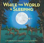 Cover art for WHILE THE WORLD IS SLEEPING