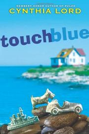 Book Cover for TOUCH BLUE
