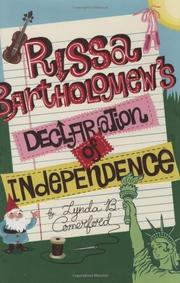 Book Cover for RISSA BARTHOLOMEW'S DECLARATION OF INDEPENDENCE