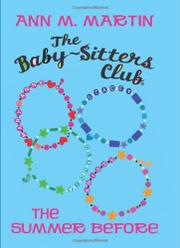 Cover art for THE BABY-SITTERS CLUB