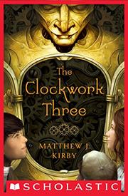 Cover art for THE CLOCKWORK THREE