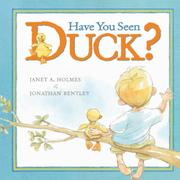 HAVE YOU SEEN DUCK? by Janet A.  Holmes