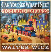 Book Cover for CAN YOU SEE WHAT I SEE?  TOYLAND EXPRESS
