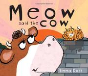 Book Cover for MEOW SAID THE COW