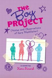 Book Cover for THE BOY PROJECT