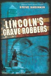 Cover art for LINCOLN'S GRAVE ROBBERS