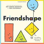 FRIENDSHAPE by Amy Krouse Rosenthal