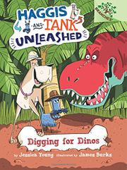 DIGGING FOR DINOS by Jessica Young