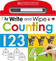 WRITE AND WIPE COUNTING by Scholastic Inc.