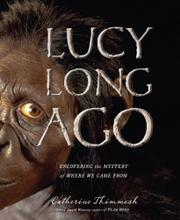 Cover art for LUCY LONG AGO