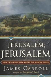 Book Cover for JERUSALEM, JERUSALEM