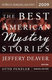 THE BEST AMERICAN MYSTERY STORIES by Jeffrey Deaver