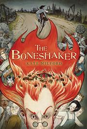 Cover art for THE BONESHAKER