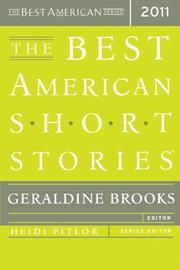 Cover art for THE BEST AMERICAN SHORT STORIES 2011