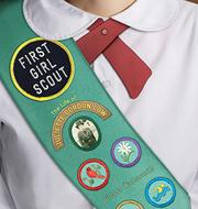 Book Cover for FIRST GIRL SCOUT