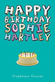 Book Cover for HAPPY BIRTHDAY, SOPHIE HARTLEY