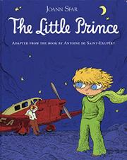 Cover art for THE LITTLE PRINCE GRAPHIC NOVEL