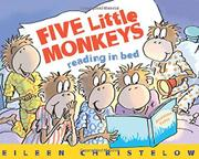 Cover art for FIVE LITTLE MONKEYS READING IN BED