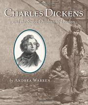 Cover art for CHARLES DICKENS AND THE STREET CHILDREN OF LONDON