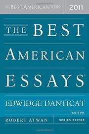 THE BEST AMERICAN ESSAYS 2011 by Edwidge Danticat
