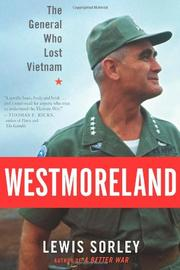 Book Cover for WESTMORELAND
