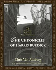 THE CHRONICLES OF HARRIS BURDICK by Chris Van Allsburg