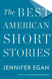 THE BEST AMERICAN SHORT STORIES 2014 by Jennifer Egan