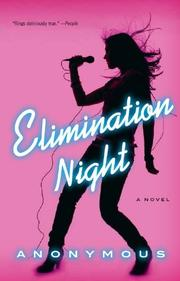 Cover art for ELIMINATION NIGHT