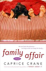 Cover art for FAMILY AFFAIR