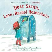DEAR SANTA, LOVE, RACHEL ROSENSTEIN by Amanda Peet