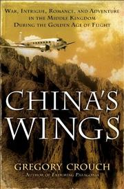 Cover art for CHINA'S WINGS