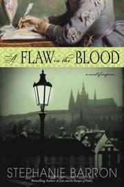 Cover art for A FLAW IN THE BLOOD