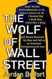 Cover art for THE WOLF OF WALL STREET