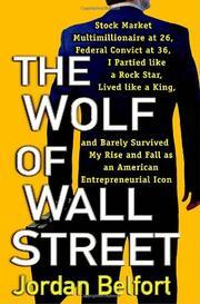 THE WOLF OF WALL STREET by Jordan Belfort