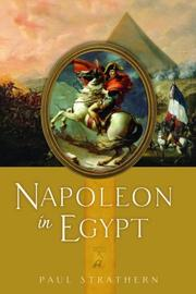 Cover art for NAPOLEON IN EGYPT