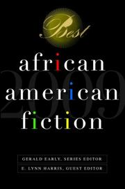 Cover art for BEST AFRICAN AMERICAN FICTION: 2009