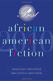 Cover art for BEST AFRICAN AMERICAN FICTION 2010