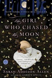 Book Cover for THE GIRL WHO CHASED THE MOON