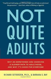 Book Cover for NOT QUITE ADULTS