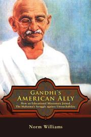 Cover art for GANDHI'S AMERICAN ALLY
