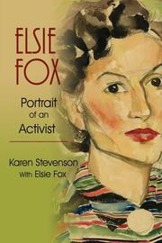 ELSIE FOX by Karen Stevenson
