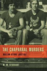 THE CHAPARRAL MURDERS by M.M. Stoddart