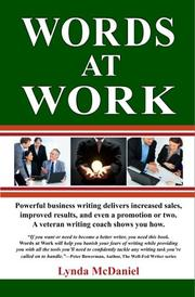 Book Cover for WORDS AT WORK