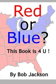 Cover art for RED OR BLUE?