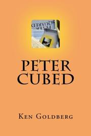 Cover art for PETER CUBED