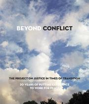 BEYOND CONFLICT by Timothy Phillips